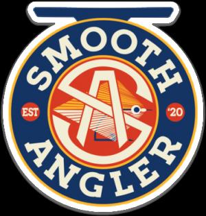 Smooth Angler Original Logo Sticker